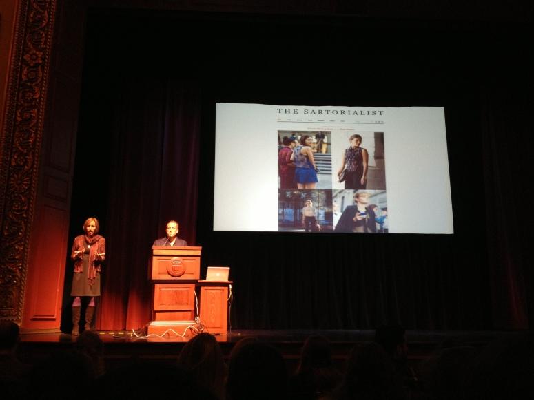 Sartorialist Lecture