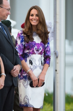 The Duke And Duchess Of Cambridge Diamond Jubilee Tour - Day 1
