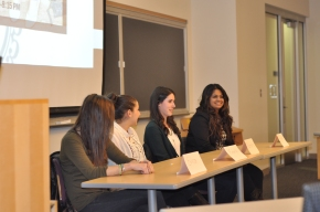 Spring 2013 Fashion Co-op Panel