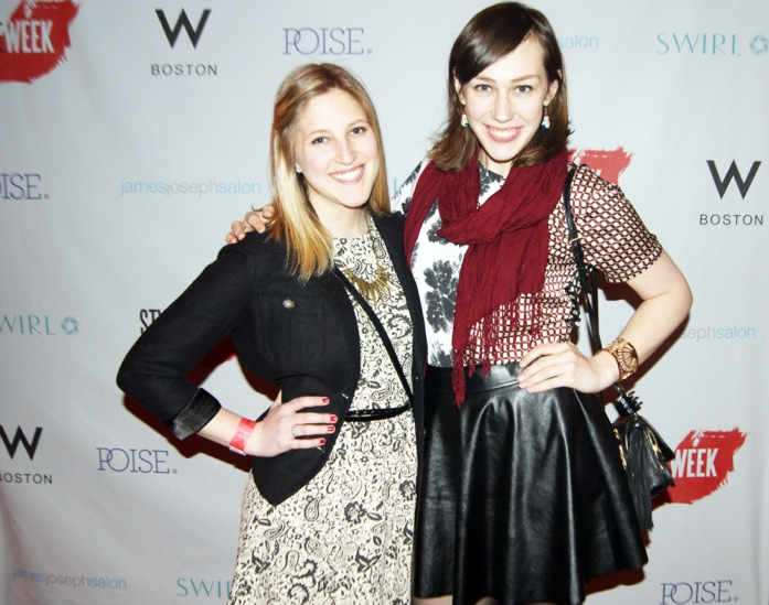 Our Writer, Juliana, and our Photographer, Siobhan, enjoying StyleWeek Northeast!