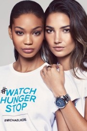 Chanel Iman and Lily Aldridge