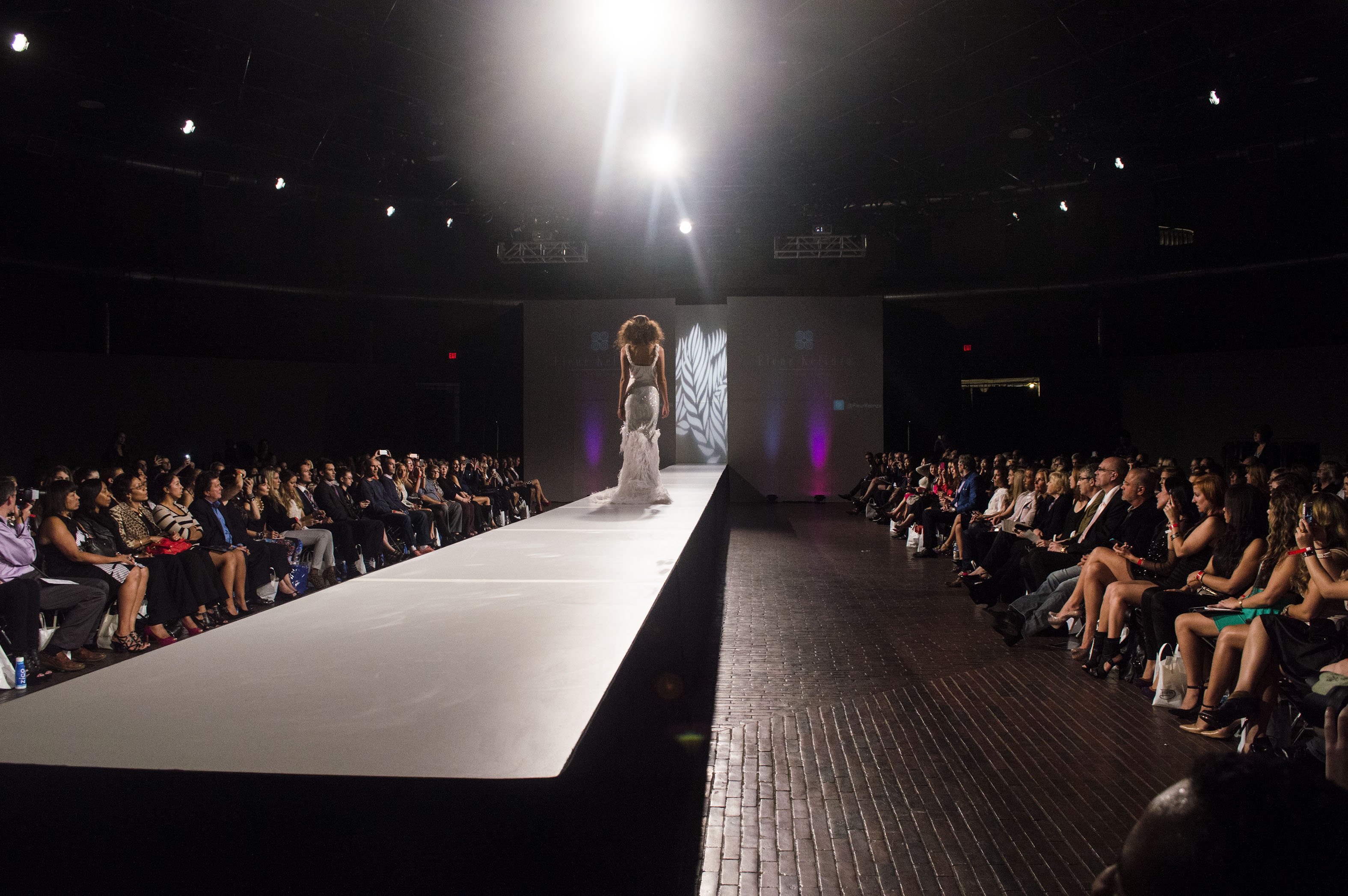 John Farr Lighting Design Goes Beyond Runway At Fashion Show Fashion runway lighting design