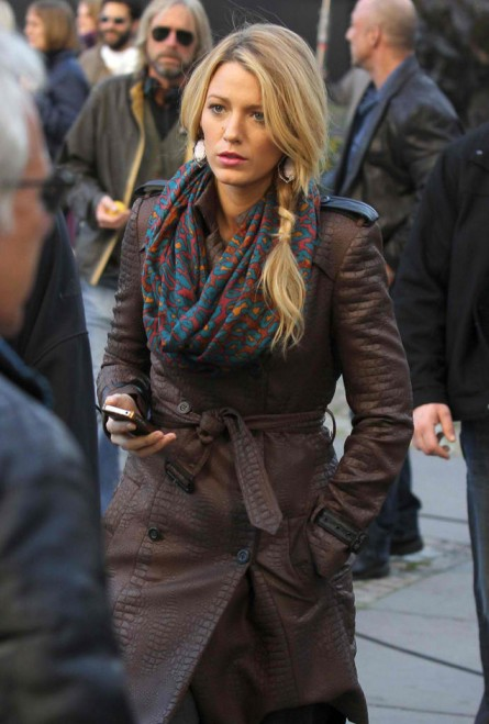 Blake Lively Infinity Scarf