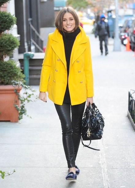 Olivia Palermo Pea Coat