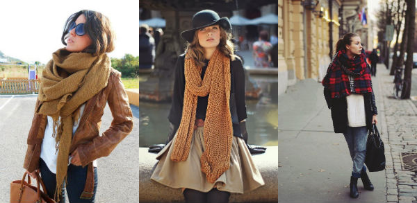 scarf- layered pinterest