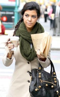 side braid scarf pic