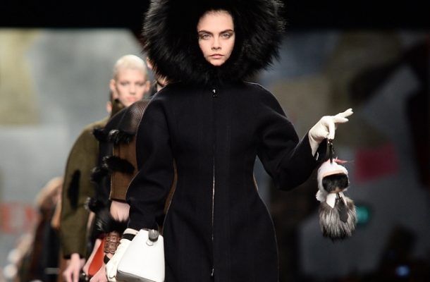 Fendi - Runway - Milan Fashion Week Womenswear Autumn/Winter 2014
