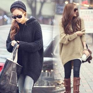 New-Women-s-Batwing-Jumper-Cape-Ponchos-font-b-Oversize-b-font-Knitwear-Knitted-font-b
