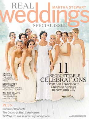 Jennifer Lawrence as Bridesmaid on Real Weddings Cover