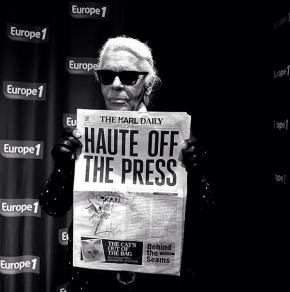 Karl Lagerfeld's Newspaper
