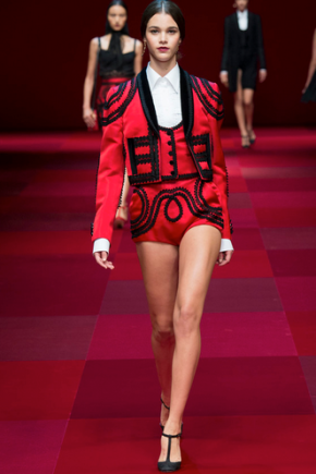 Paris Fashion Week — Dolce & GabbanaRecap