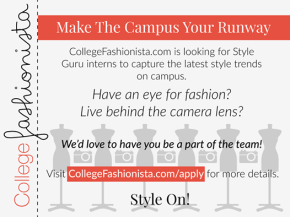 CollegeFashionista Internship Opportunity