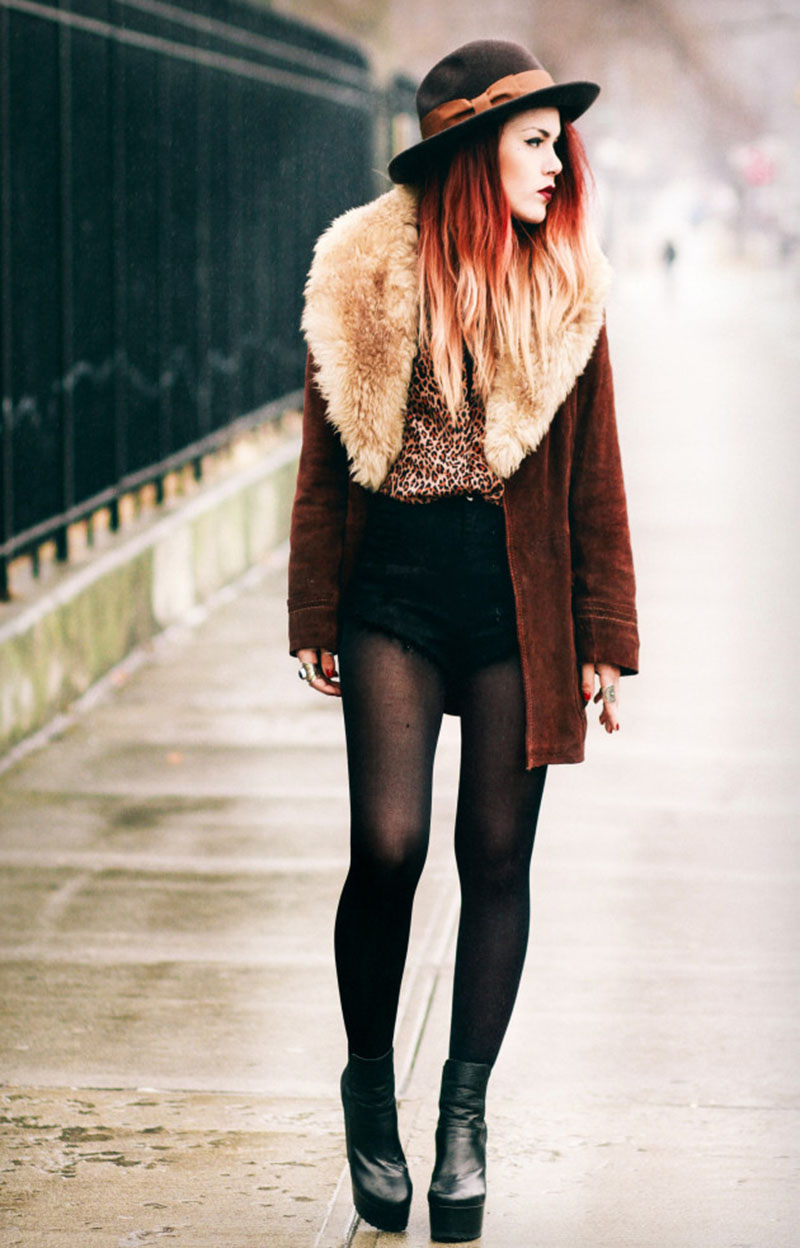 Famous fashion blogger - Luanna Perez Garreaud A Fashion Student From New York Luanna Is Famous For Her Grunge Old School Style Her Outfits Often Feature Circular Sunglasses