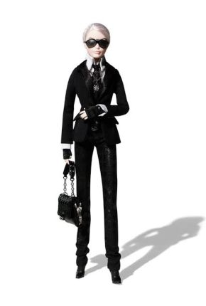 Mattel Launches Karl Lagerfeld Limited Edition Barbie Doll