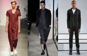 Girls' Take On Guys Trends Spring/Summer Ready to Wear 2015