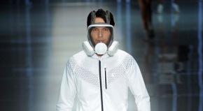 Smog Masks Make a Debut During China FashionWeek