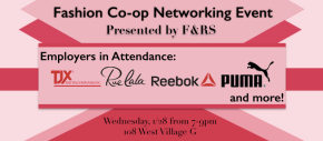 Fashion Co-op NetworkingEvent