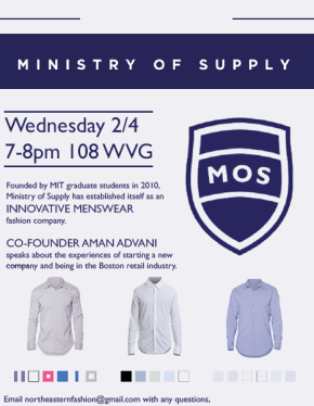 Speaker Event: Aman Advani from Ministry of Supply